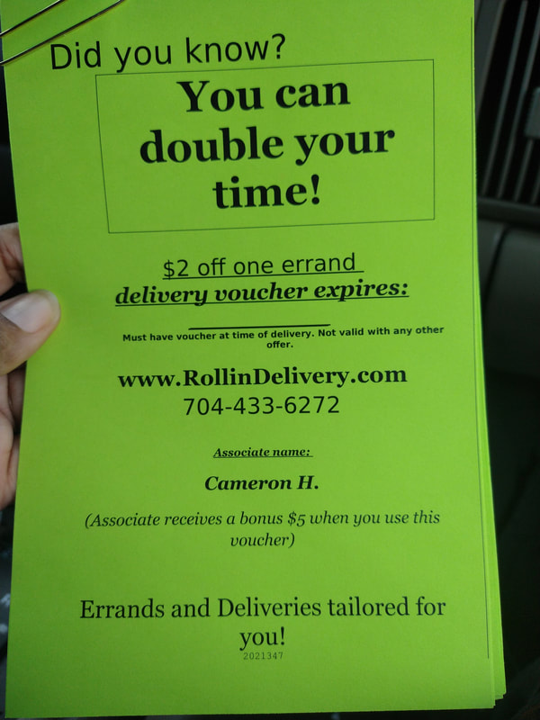 Discount voucher for drivers of RollinDelivery.com
